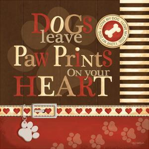 Paw Prints by Kathy Middlebrook