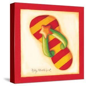 Red Flip Flop II by Kathy Middlebrook