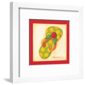 Red Flip Flop III by Kathy Middlebrook