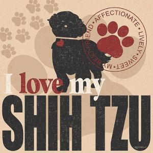 Shih Tzu by Kathy Middlebrook