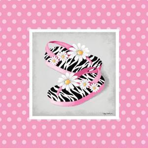 Wild Child Flip Flop by Kathy Middlebrook