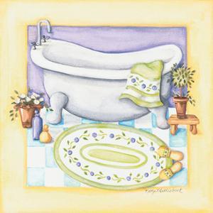 Yellow Bathroom Tub by Kathy Middlebrook