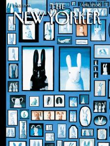 The New Yorker Cover - April 5, 2010 by Kathy Osborn