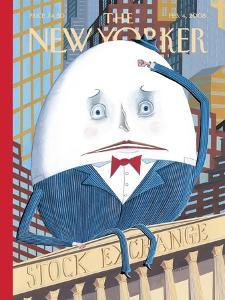 The New Yorker Cover - February 4, 2008 by Kathy Osborn