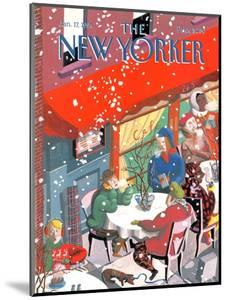 The New Yorker Cover - January 17, 1994 by Kathy Osborn