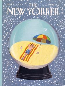 The New Yorker Cover - March 12, 1990 by Kathy Osborn