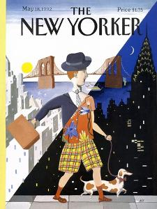The New Yorker Cover - May 18, 1992 by Kathy Osborn