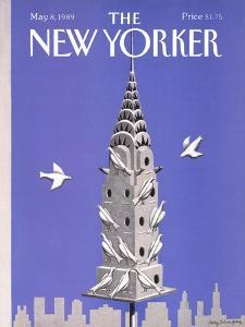 The New Yorker Cover - May 8, 1989 by Kathy Osborn