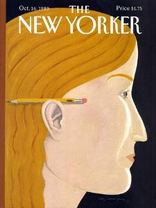 The New Yorker Cover - October 16, 1989 by Kathy Osborn
