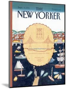 The New Yorker Cover - September 9, 1991 by Kathy Osborn