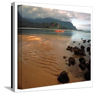 Kathy Yates 'Hanalei Bay at Dawn' Canvas Art-Kathy Yates-Gallery Wrapped Canvas