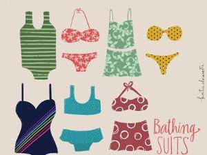 Bathing Suits by Katie Doucette