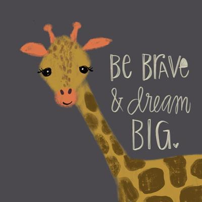 Brave Giraffe by Katie Doucette
