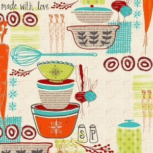 Retro Kitchen by Katie Doucette