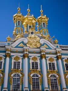 Russia, St Petersburg, Catherine Palace, Tsarskoe Selo by Katie Garrod