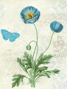Booked Blue IV Crop by Katie Pertiet