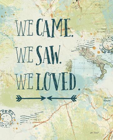 Map Sentiments III by Katie Pertiet