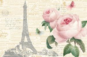 Roses in Paris I by Katie Pertiet