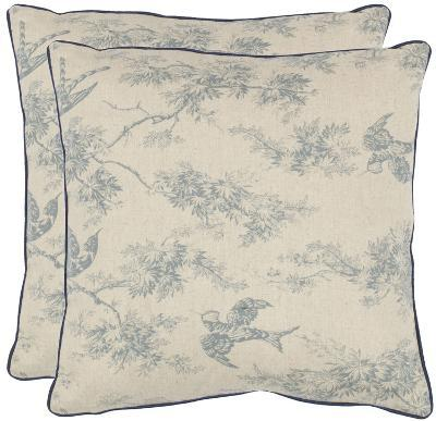 Katie Pillow Pair - Blue--Home Accessories