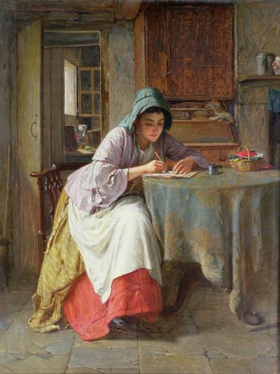 Katie's Letter-Haynes King-Giclee Print
