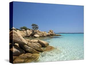 Capriccioli Beach, Costa Smeralda, Sardinia, Italy by Katja Kreder