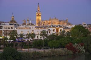 Cathedral, Seville, Andalusia, Spain by Katja Kreder