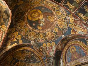 Historical Wallpaintings in Panagia Forviotissa Church in Asinou, Troodos Mountains, Cyprus by Katja Kreder