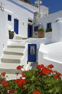 Hotel in Imerovigli, Santorini, Cyclades, Greece by Katja Kreder
