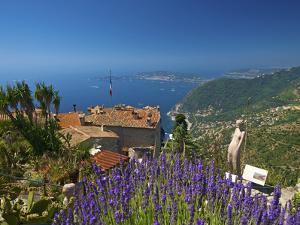Jardin Exotique in Eze, Cote D´Azur, Alpes-Maritimes, Provence-Alpes-Cote D'Azur, France by Katja Kreder