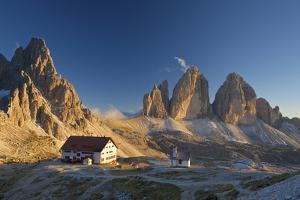 Le Tre Cime Di Laveredo, Dolomites, Trentino, South Tyrol, Italy by Katja Kreder