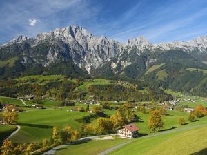 Leogang in Pinzgau, Salzburger Land, Austria by Katja Kreder