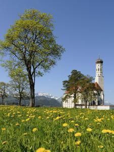 Saint Coloman Near to Fuessen, Allgaeu, Bavaria, Germany by Katja Kreder