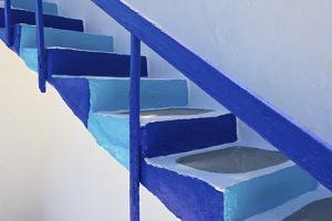 Stairs, Folegandros, Cyclades, Greece by Katja Kreder