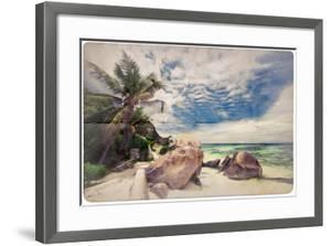 Dream Beach Paper Background by Katja Piolka