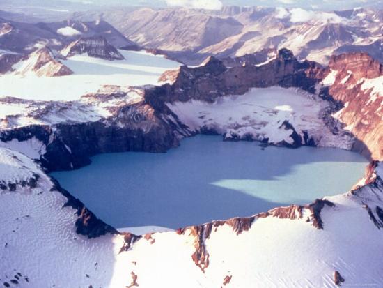 Katmai Crater-Captain Budd Christman-Photo