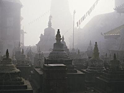 Katmandu Temple,Nepal-David Edwards-Photographic Print