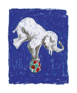 Elephant Balance by Katrien Soeffers