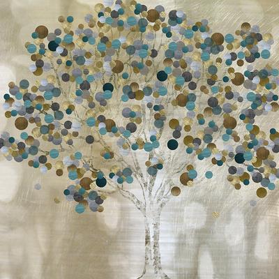 A Teal Tree