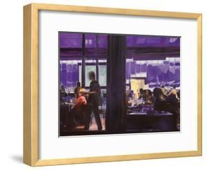 Purple Cyber Cafe by Katrina Swanson