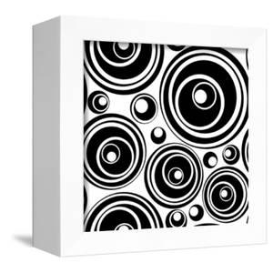 Black-And-White Retro Seamless Ornament by katritch