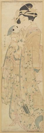 Woman Holding a Doll, Late 18th-Early 19th Century