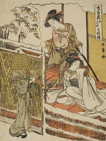 Act Nine: Yuranosuke's House in Yamashina from the Play Chushingura, C.1779-80
