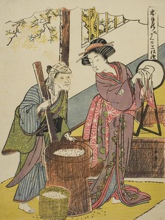 Act Six: Yoichibei's House from the Play Chushingura (Treasury of Loyal Retainers), C.1779-80
