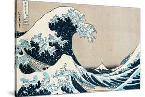 36 Views of Mount Fuji, no. 1: The Great Wave off Kanagawa by Katsushika Hokusai