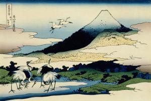 36 Views of Mount Fuji, no. 14: Umegawa in Sagami Province by Katsushika Hokusai