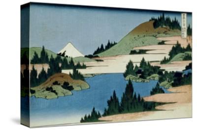 36 Views of Mount Fuji, no. 34: The Lake of Hakone in the Sagami Province