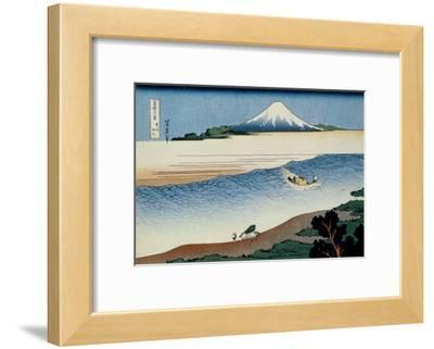36 Views of Mount Fuji, no. 8: Tama River in the Musashi Province