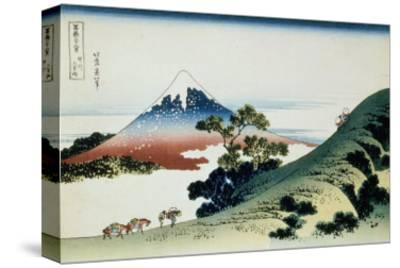 36 Views of Mount Fuji, no. 9: Inume Pass in the Kai Province