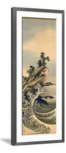 Breaking Waves, Edo Period, 1847 by Katsushika Hokusai