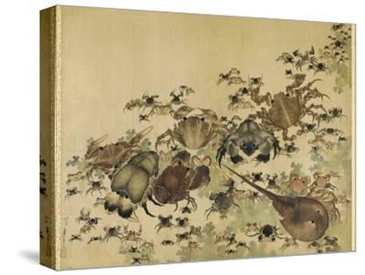 Crustaceans, Edo Period C.1825